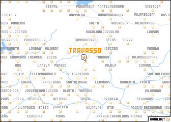 map of Travassô