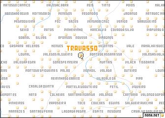 map of Travasso