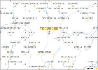 map of Traversa