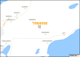 map of Traverse