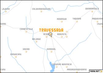 map of Travessada