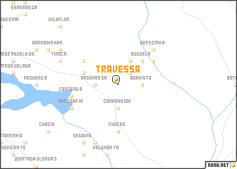 map of Travessa