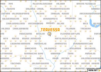 map of Travessa