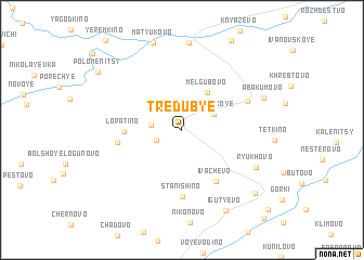 map of Tredub\