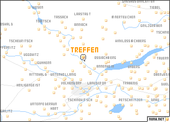 map of Treffen