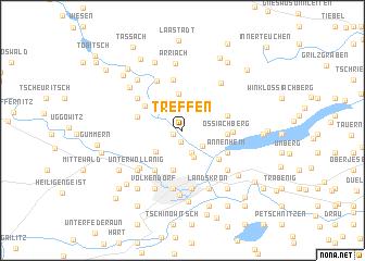 map of Treffen