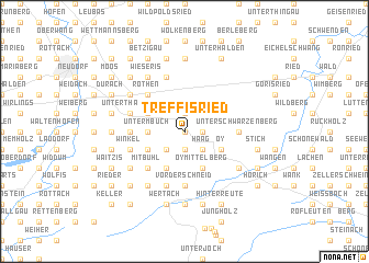 map of Treffisried