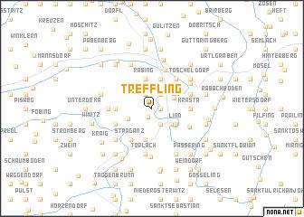 map of Treffling