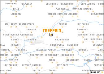 map of Treffrin