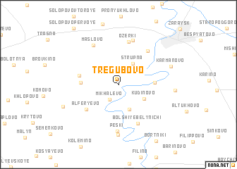 map of Tregubovo