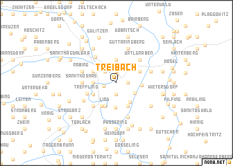 map of Treibach