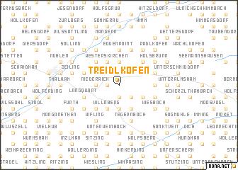 map of Treidlkofen