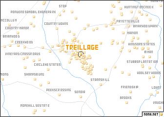 map of Treillage