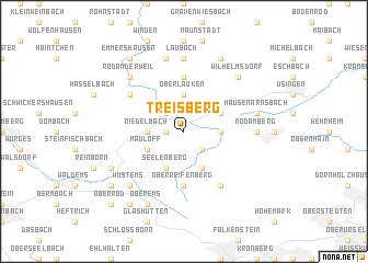 map of Treisberg