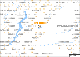 map of Tremado