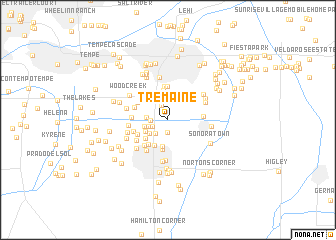map of Tremaine