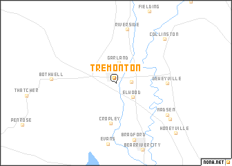 map of Tremonton