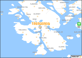 map of Trengereid