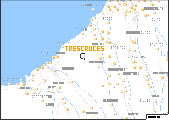 Tres Cruces Philippines Map Nonanet - Tanza map
