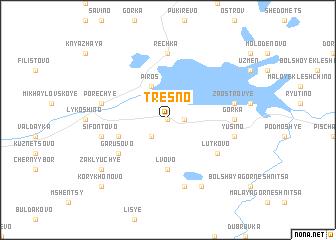 map of Tresno