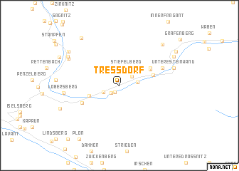 map of Tressdorf
