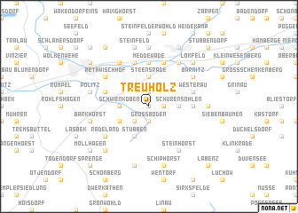 map of Treuholz
