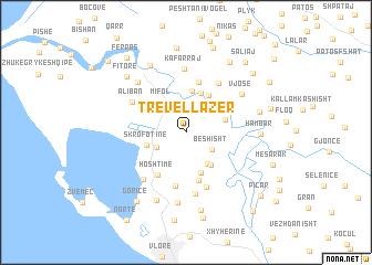 map of Trevëllazër