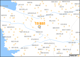 map of Triban
