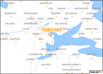map of Tribschen