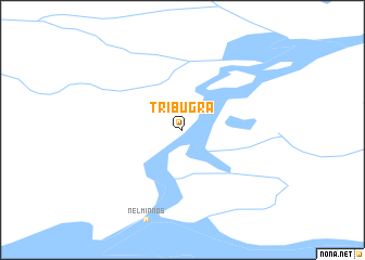 map of Tri Bugra