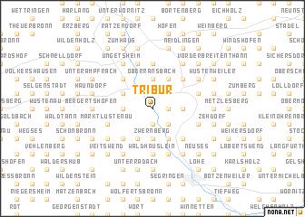 map of Tribur