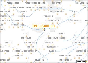 map of Tribuswinkel
