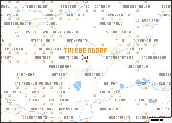 map of Triebendorf