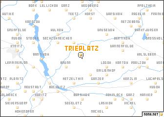 map of Trieplatz
