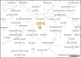 map of Trifa