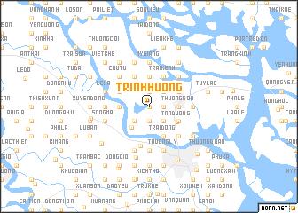 map of Trinh Huỏng
