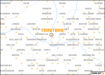 map of Tripotamiá