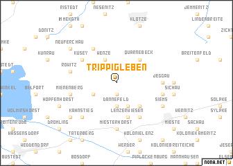 map of Trippigleben