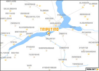 map of Triputino