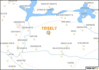 map of Trisëly