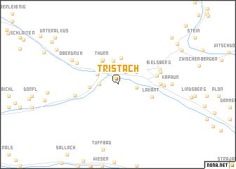 map of Tristach