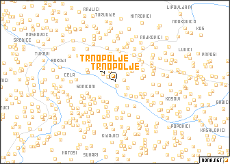 map of Trnopolje