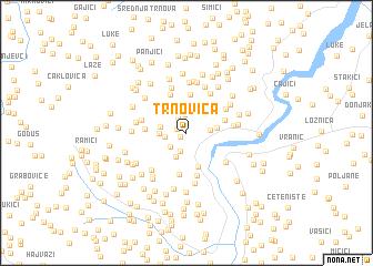 map of Trnovica