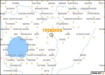 map of Trobokro
