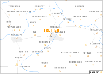 map of Troitsa