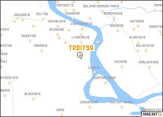 map of Troitsa