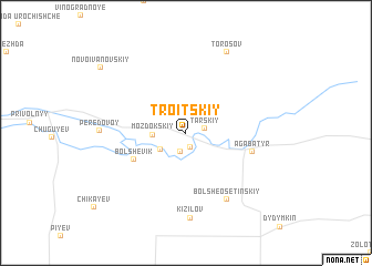 map of (( Troitskiy))