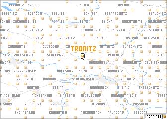 map of Tronitz