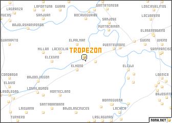 map of Tropezón