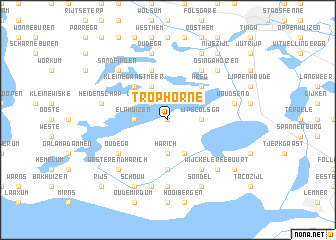 map of Trophorne